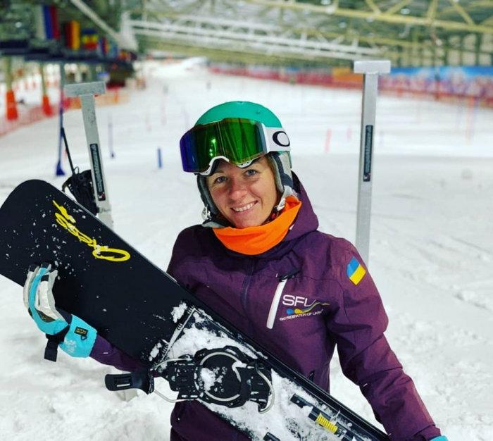 Закарпатська сноубордистка вже готується до зимових змагань (ФОТО), фото-2