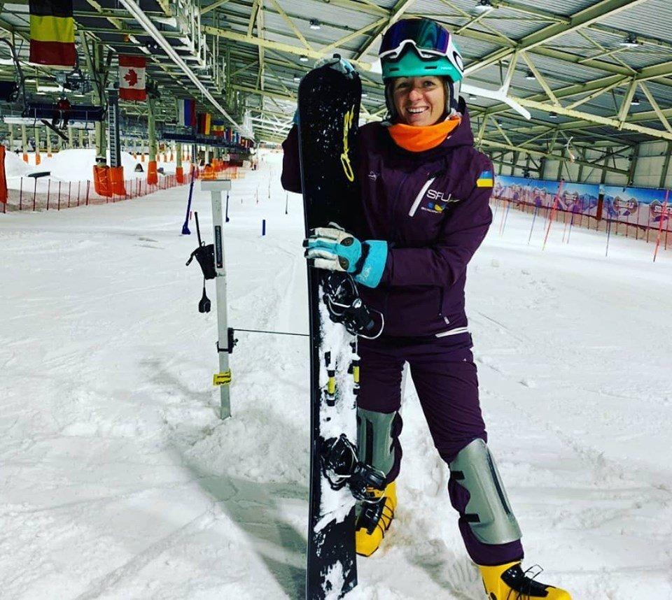 Закарпатська сноубордистка вже готується до зимових змагань (ФОТО), фото-1