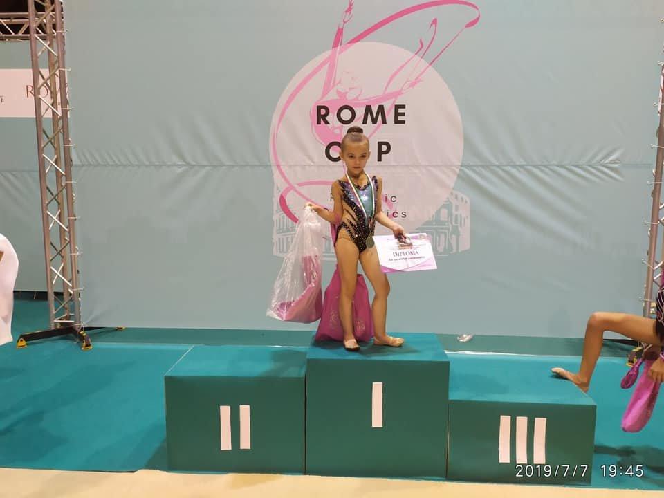 """Юні ужгородські гімнастки привезли три """"золота"""" із Риму (ФОТО), фото-6"""