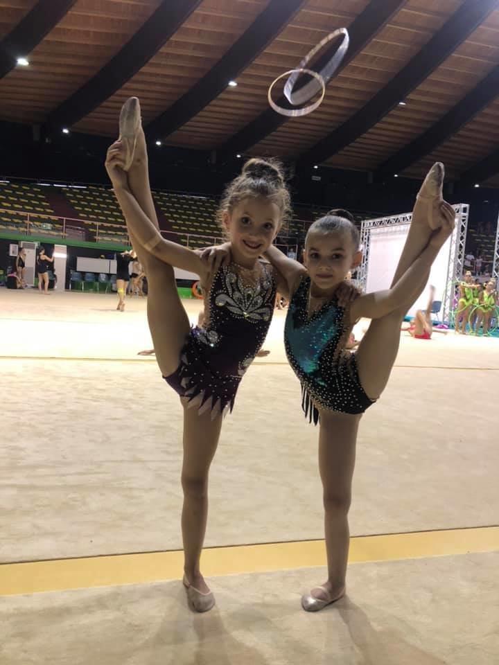 """Юні ужгородські гімнастки привезли три """"золота"""" із Риму (ФОТО), фото-1"""