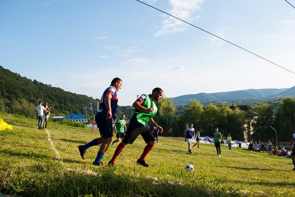Вперше на Закарпатті провели Карпатський футбол на полі з нахилом (ФОТОФАКТ), фото-6