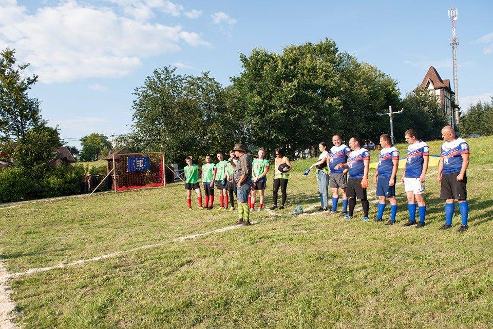 Вперше на Закарпатті провели Карпатський футбол на полі з нахилом (ФОТОФАКТ), фото-3