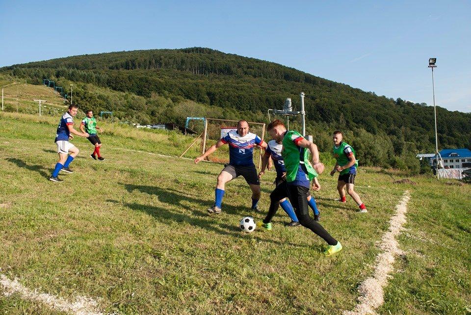 Вперше на Закарпатті провели Карпатський футбол на полі з нахилом (ФОТОФАКТ), фото-7