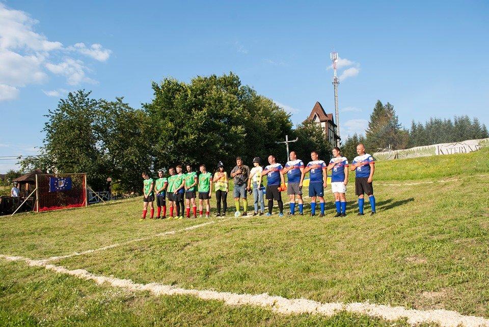 Вперше на Закарпатті провели Карпатський футбол на полі з нахилом (ФОТОФАКТ), фото-1