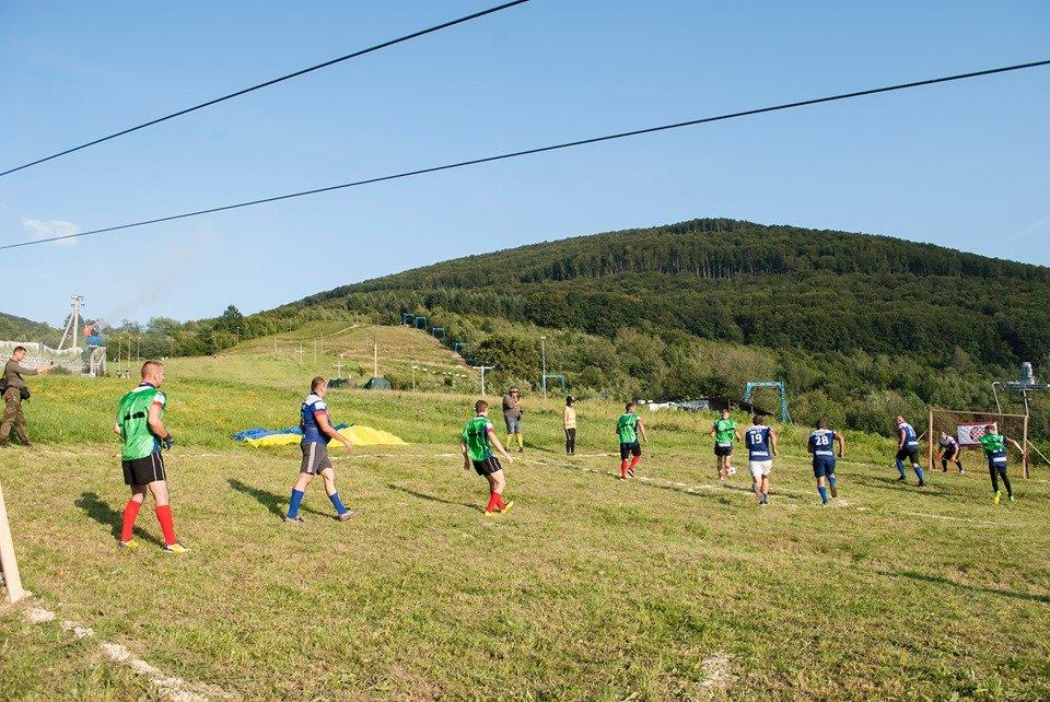Вперше на Закарпатті провели Карпатський футбол на полі з нахилом (ФОТОФАКТ), фото-9
