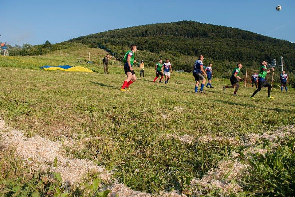 Вперше на Закарпатті провели Карпатський футбол на полі з нахилом (ФОТОФАКТ), фото-8