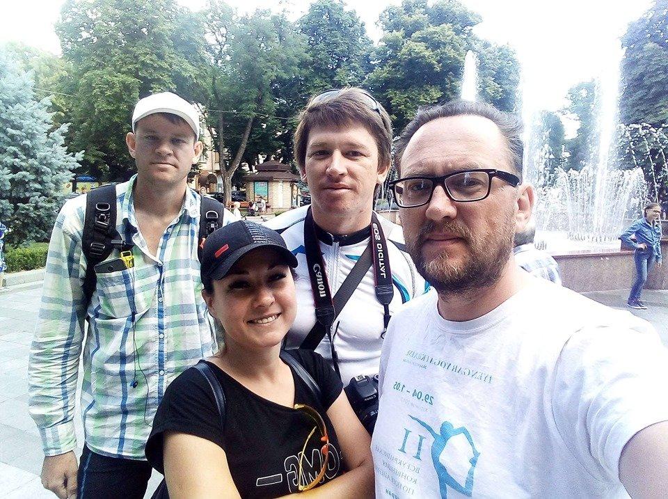 Веломандрівники з Луганщини подолали понад 1500 кілометрів і доїхали до Ужгорода (ЕКСКЛЮЗИВ, ФОТО), фото-1