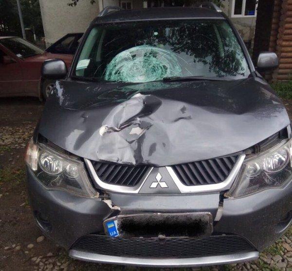 На Закарпатті під колесами «Mitsubishi Оutlander» загинув 19-річний хлопець. Особу водія встановлюють (ФОТО), фото-1