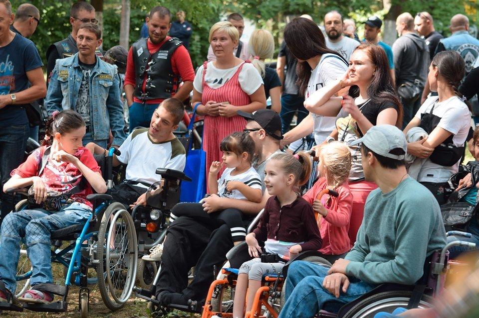 У Боздоському парку в Ужгороді провели благодійну акцію для людей з інвалідністю (ФОТО), фото-2