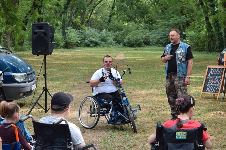 У Боздоському парку в Ужгороді провели благодійну акцію для людей з інвалідністю (ФОТО), фото-9
