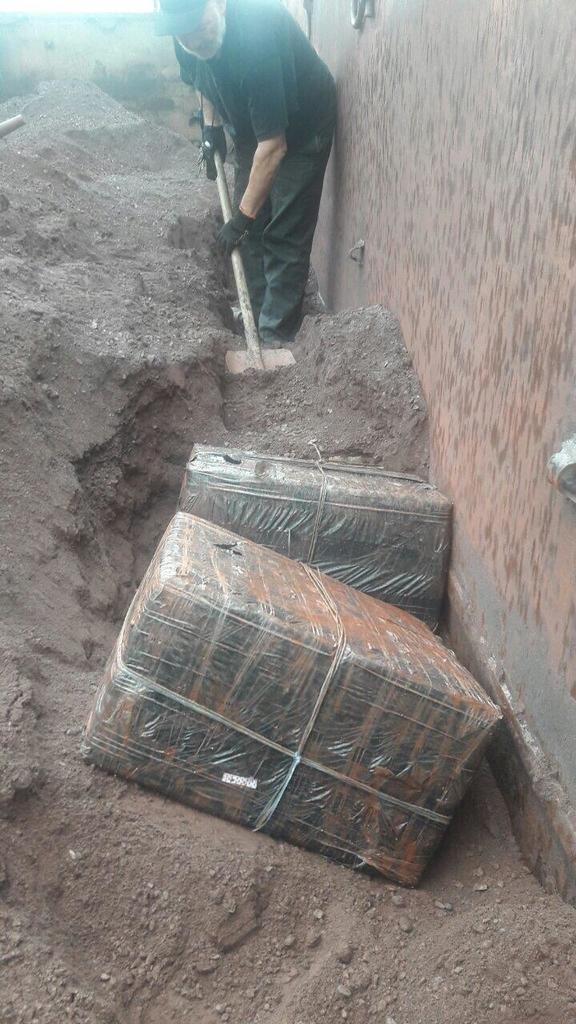 Закарпатські митники знайшли у потязі з рудою, що прямував до Словаччини майже 9 тис пачок цигарок (ФОТО), фото-2