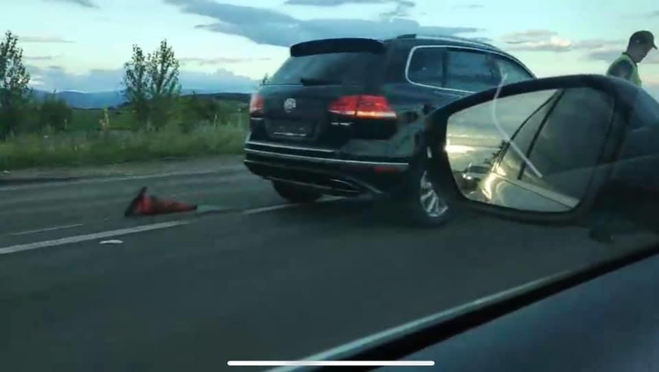 На Закарпатті Volkswagen Touareg на смерть збив працівника дорожньої служби (ФОТО, ВІДЕО), фото-4
