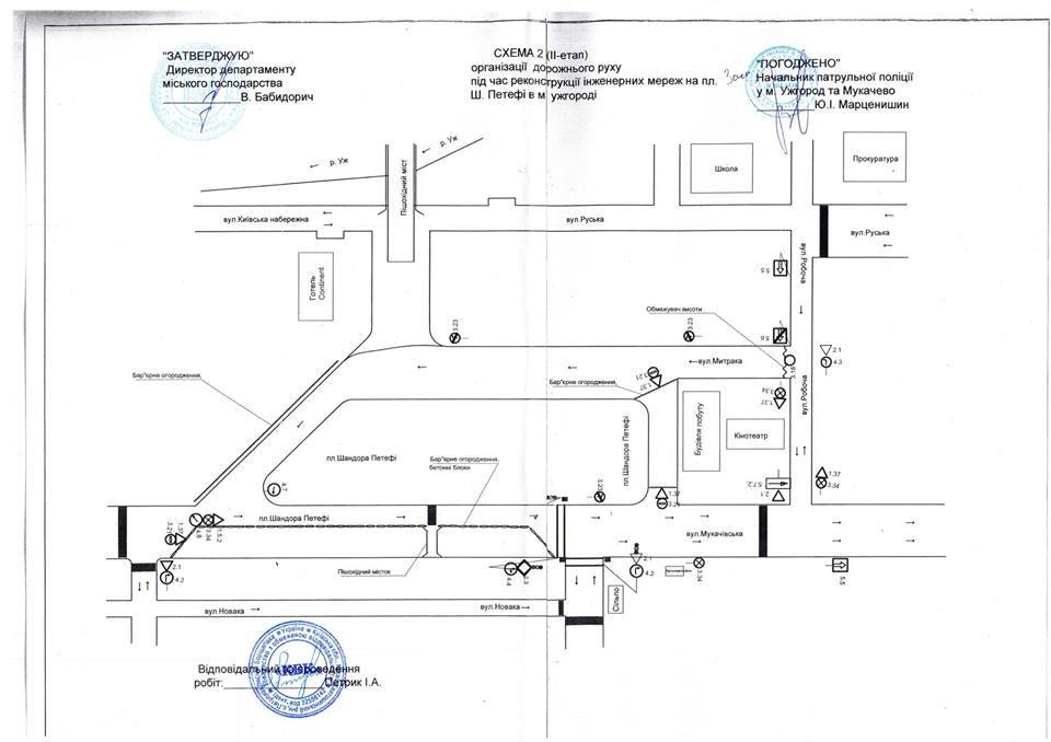 ІІ етап капітального ремонту на Петефі: ужгородців повідомляють про обмеження руху авто з 29 серпня, фото-2