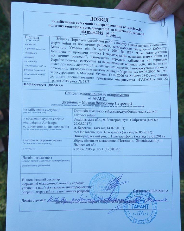 В Ужгороді шукають останки німецьких військових, щоб перепоховати на загальному цвинтарі (ФОТО), фото-7