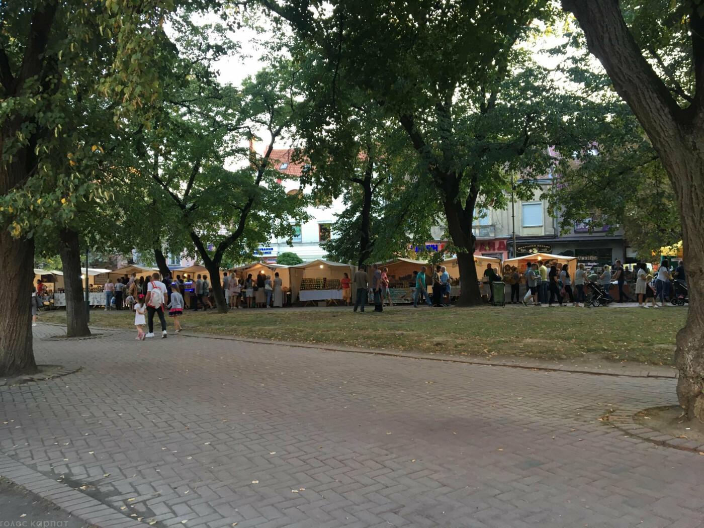 Смаколики, сир, вино та колесо огляду: ярмарок до Дня міста Ужгород запрошує (ФОТО), фото-12