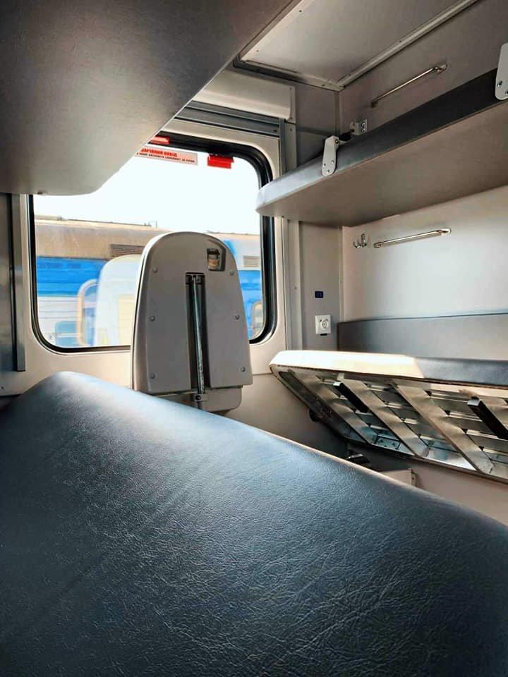 """Фото дня: як виглядають модернізовані плацкартні вагони """"Укрзалізниці"""", вартістю 10,5 млн грн кожен, фото-3"""