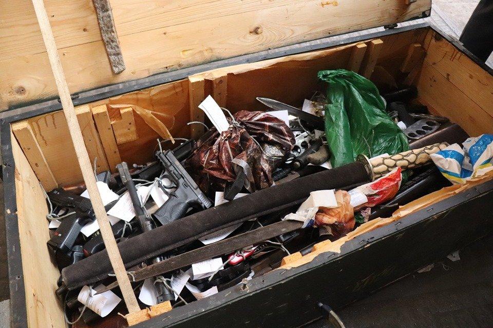 На ужгородському заводі у печі знищили нелегальну зброю (ФОТО), фото-3