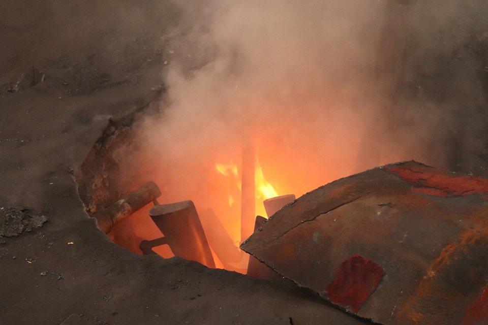 На ужгородському заводі у печі знищили нелегальну зброю (ФОТО), фото-2