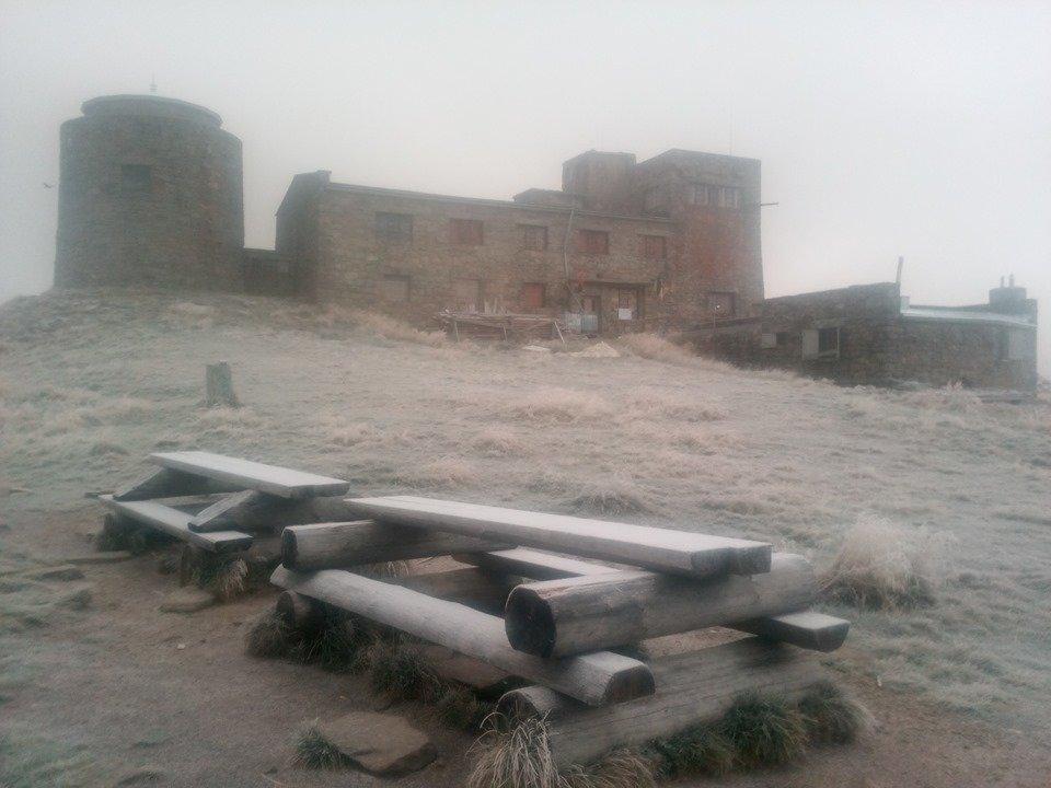 У Карпатах тримається мінусова температура та падає дрібний сніг (ФОТО), фото-1