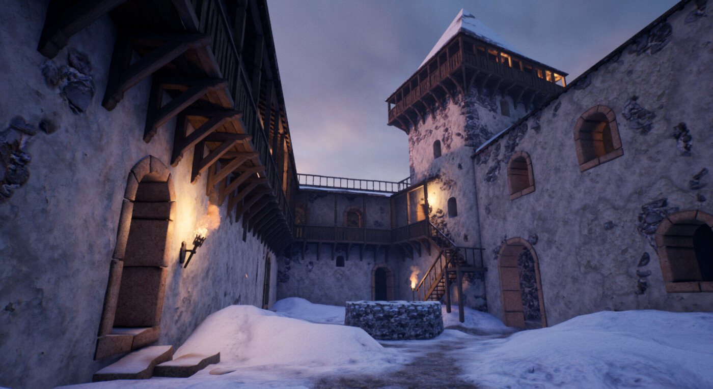 """Невицький замок """"реконструювали"""" у неймовірній комп'ютерній грі (ФОТО, ВІДЕО), фото-2"""