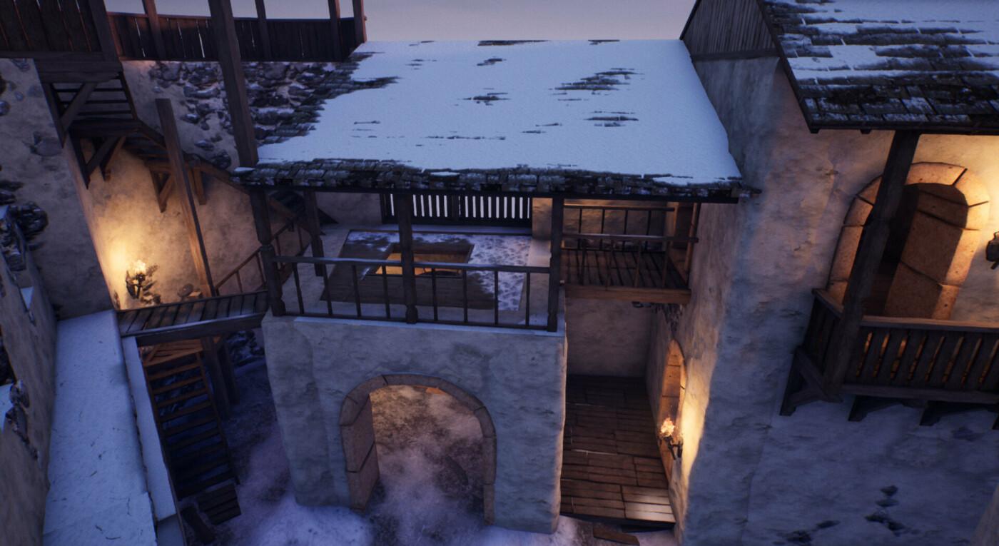 """Невицький замок """"реконструювали"""" у неймовірній комп'ютерній грі (ФОТО, ВІДЕО), фото-3"""