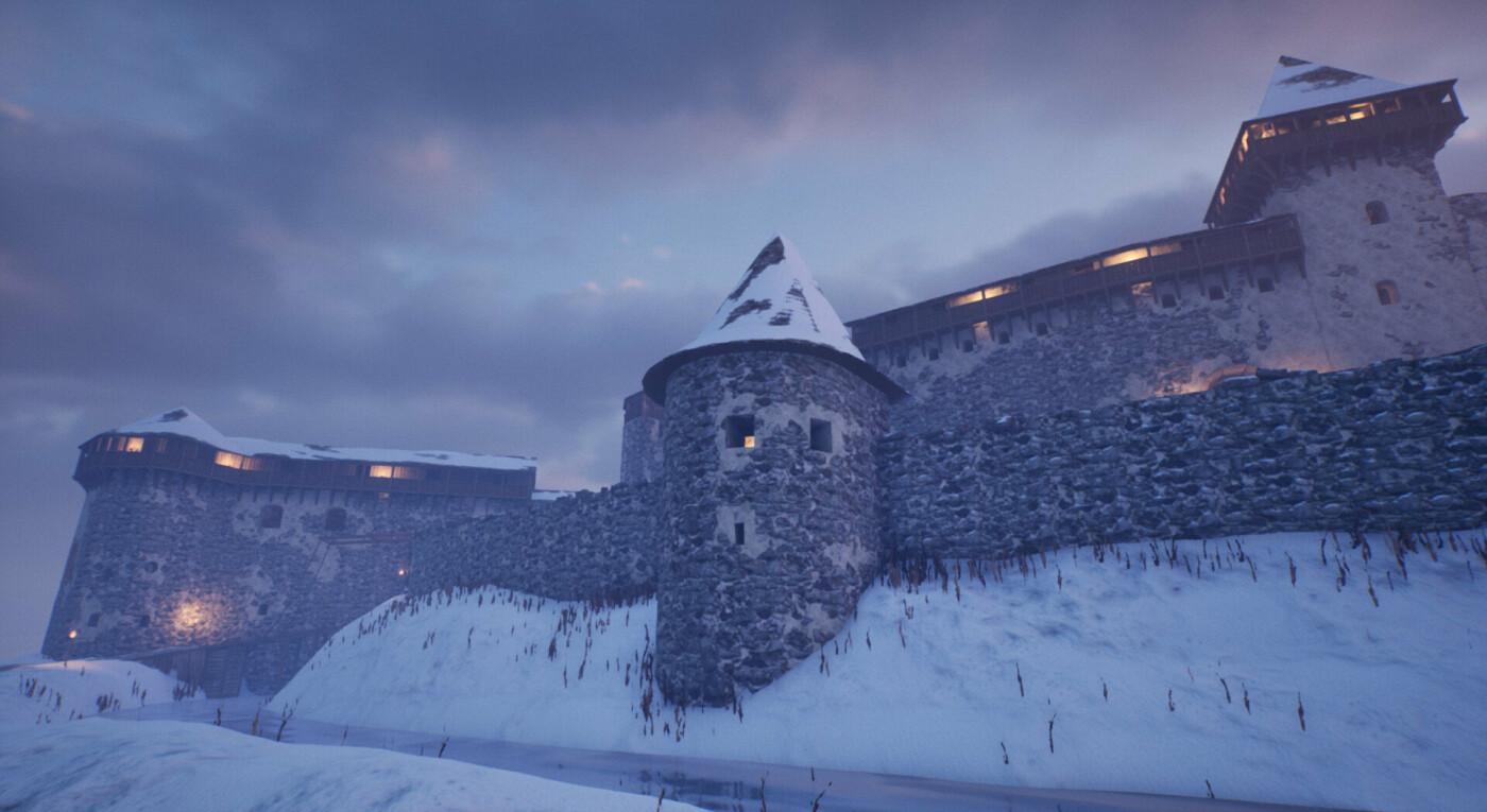 """Невицький замок """"реконструювали"""" у неймовірній комп'ютерній грі (ФОТО, ВІДЕО), фото-4"""