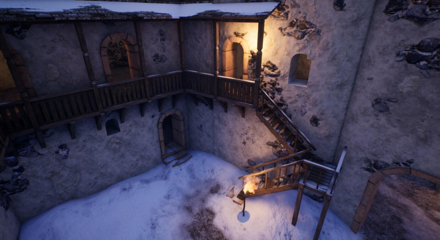 """Невицький замок """"реконструювали"""" у неймовірній комп'ютерній грі (ФОТО, ВІДЕО), фото-5"""