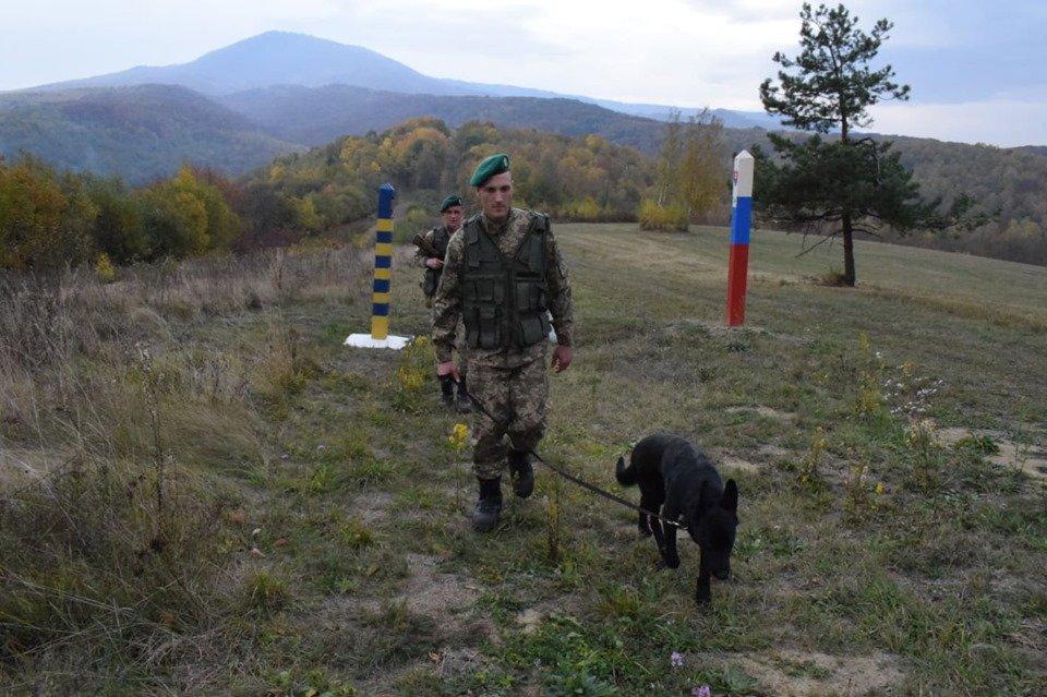 Біля кордону затримали словака, який прийняв контрабанду із Закарпаття , фото-1