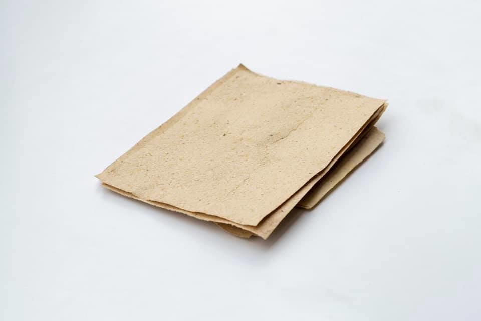 Винахідник із Закарпаття показав, як виглядає папір з опалого листя та розповів про його переваги (ФОТО), фото-1