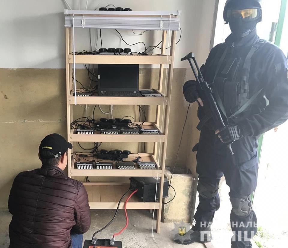 Кіберполіція викрила сервіс, що розсилав повідомлення про замінування та шахрайський спам по Україні, фото-1