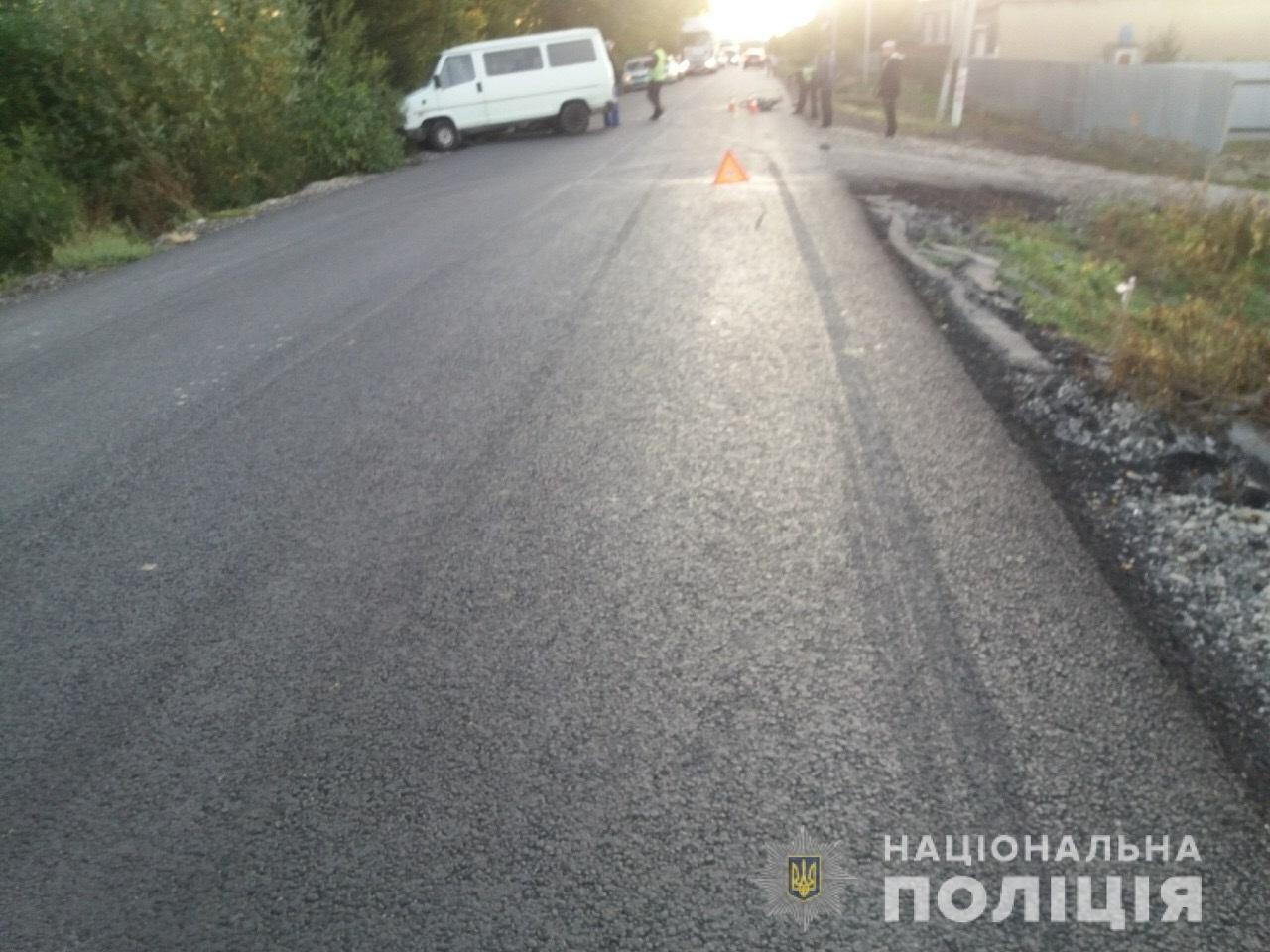 На Мукачівщині «Fiat» збив велосипедиста та влетів у припаркований «ВАЗ» (ФОТО), фото-1