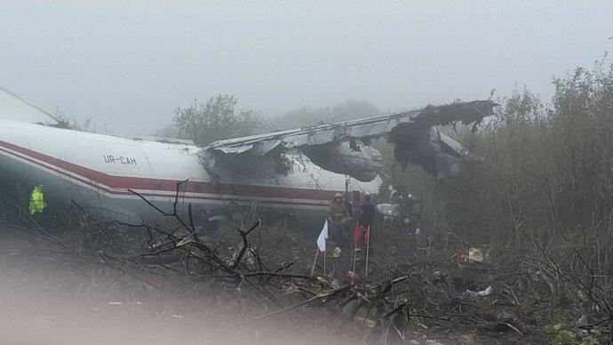 У сусідній із Закарпаттям області аварійно сів Ан-12: є загиблі (ФОТО, ОНОВЛЕНО), фото-2