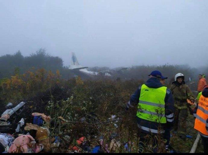 У сусідній із Закарпаттям області аварійно сів Ан-12: є загиблі (ФОТО, ОНОВЛЕНО), фото-3