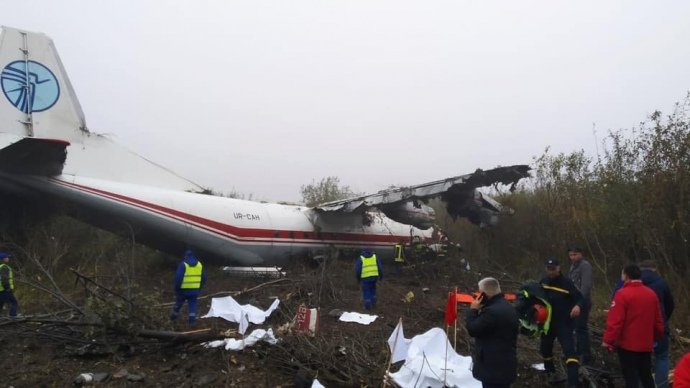 Літак, що здійснив аварійну посадку біля Львову, замішаний у контрабандному скандалі в Ужгороді, фото-1