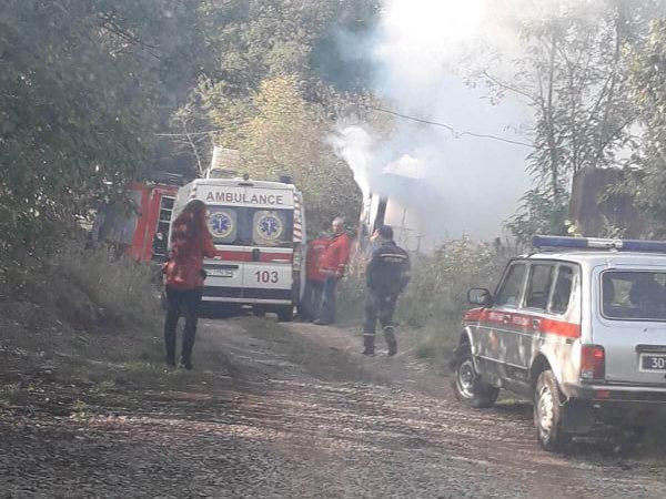 В Ужгороді згорів павільйон, у якому проживав 60-річний чоловік (ФОТО), фото-2