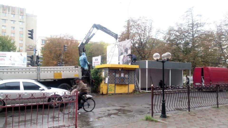 Міська рада дозволила встановити нові МАФи на Грушевського та Корятовича - ужгородці проти (ВІДЕО), фото-1