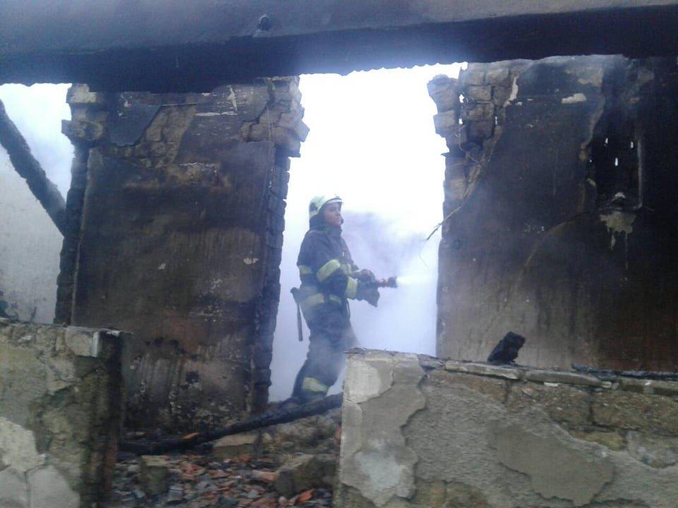 На Закарпатті в пожежі загинув 63-річний власник будинку (ФОТО), фото-1