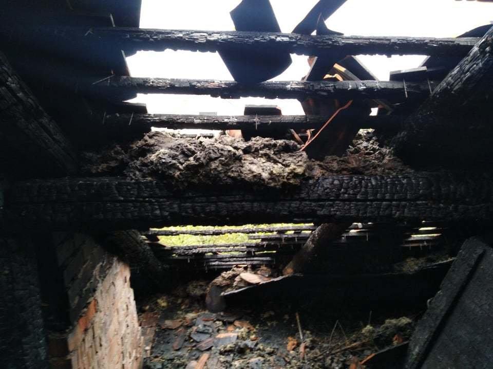 Сім'я Пантьо підозрює, що пожежа у їхньому будинку - помста: з'явились фото з місця пожежі в Ужгороді, фото-10
