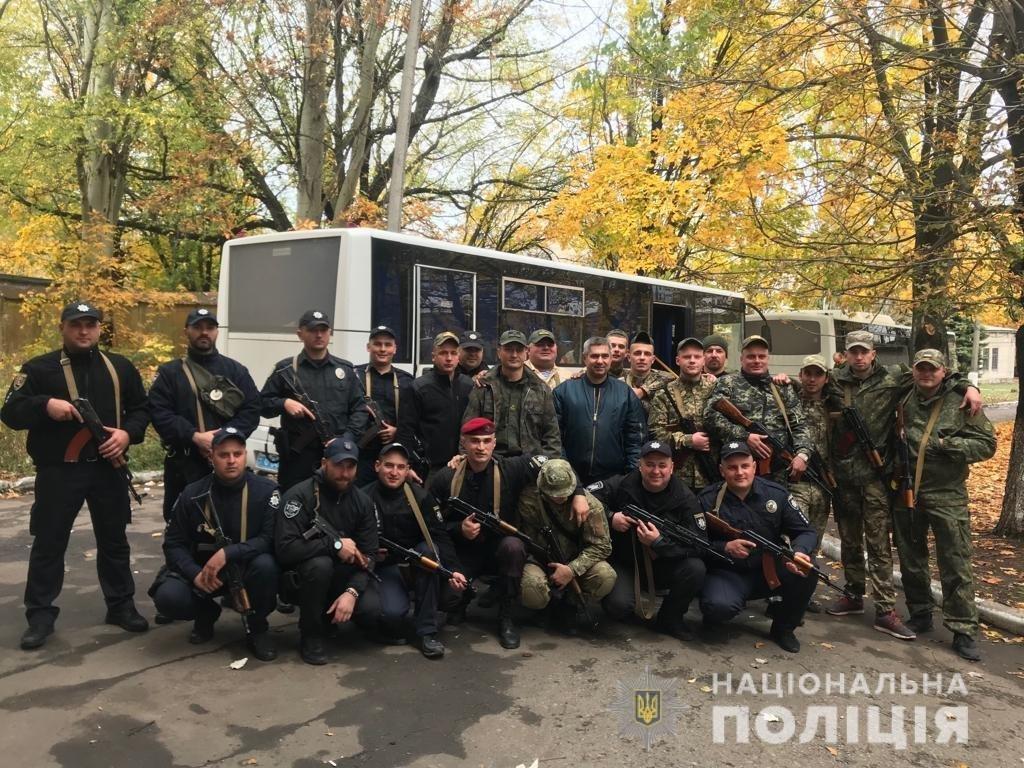 На Закарпаття зі служби у зоні ООС повернулись 25 правоохоронців , фото-1