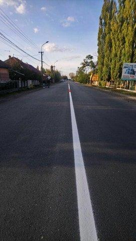 Бондаренко перевіряв нове дорожнє покриття на дорозі Берегово-Мукачево (ФОТО), фото-1