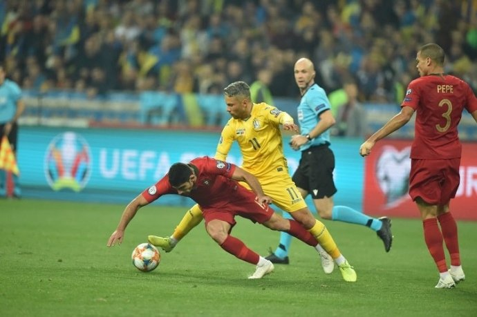 Україна героїчно обіграла Португалію і достроково вийшла на Євро-2020 (ФОТО, ВІДЕО), фото-2