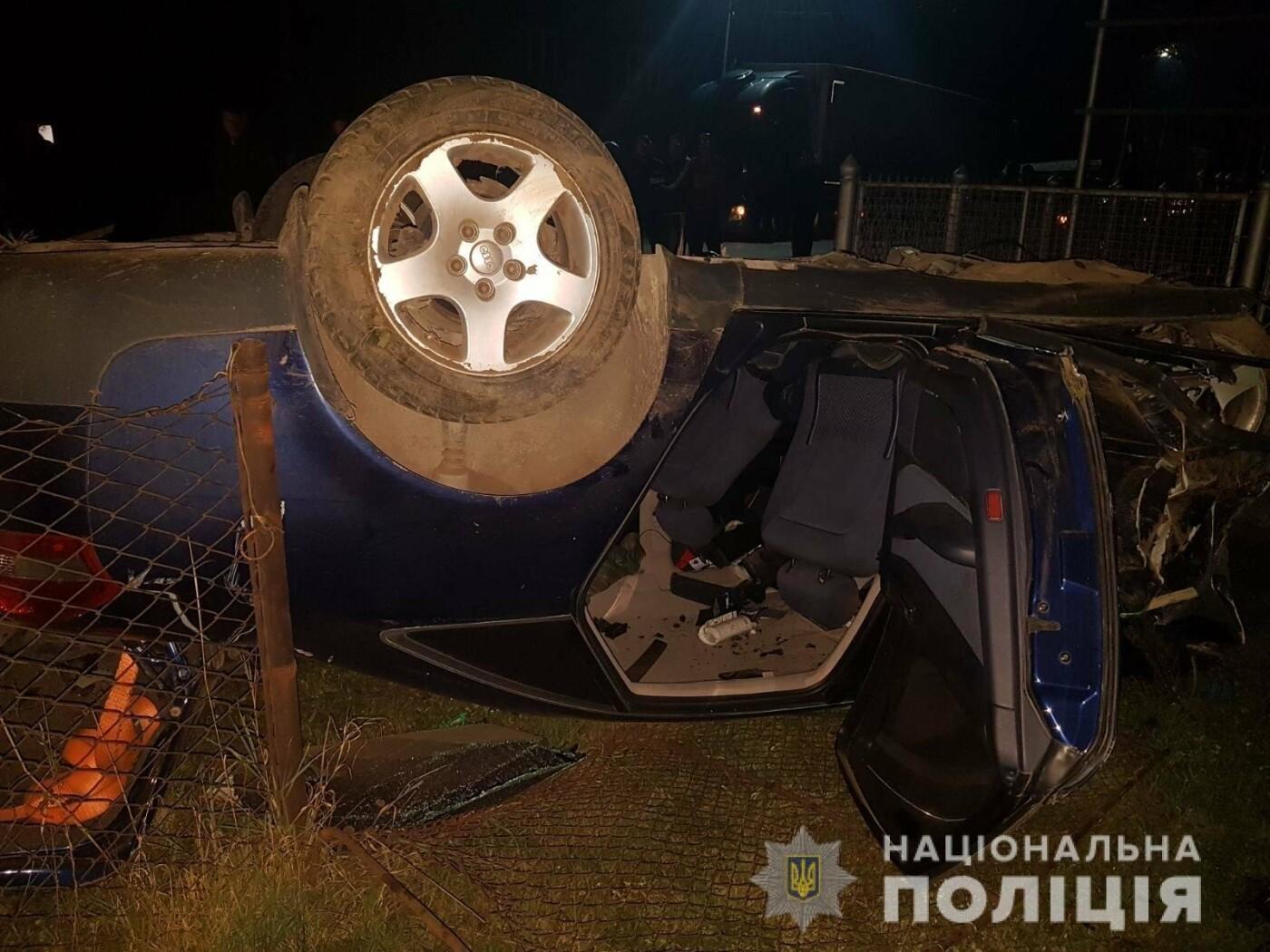 """Знову смертельна ДТП: закарпатець на """"Audi"""" на швидкості вилетів у кювет (ФОТО), фото-2"""