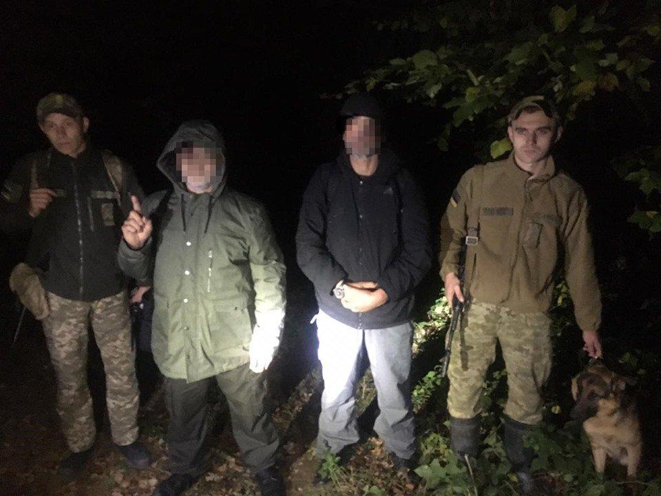 Двох росіян зловили прикордонники Закарпаття на українсько-словацькому кордоні , фото-1