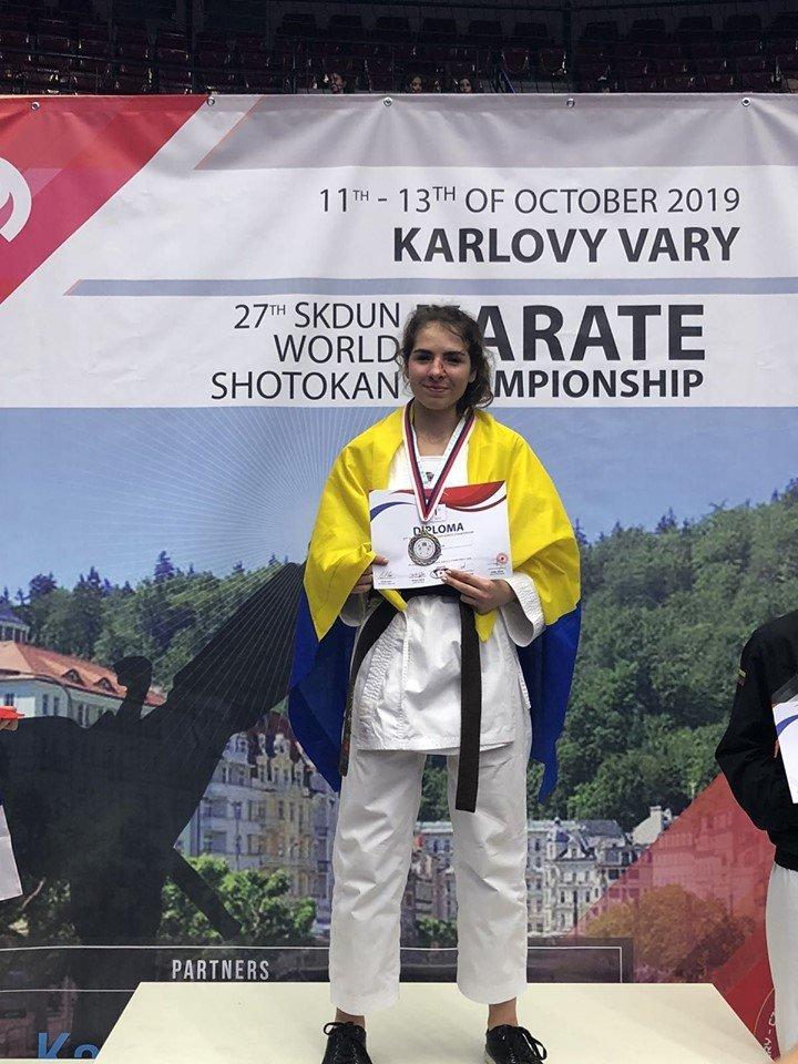 Чемпіонкою світу з карате стала закарпатка Софія Фабрицій (ФОТО, ВІДЕО), фото-3