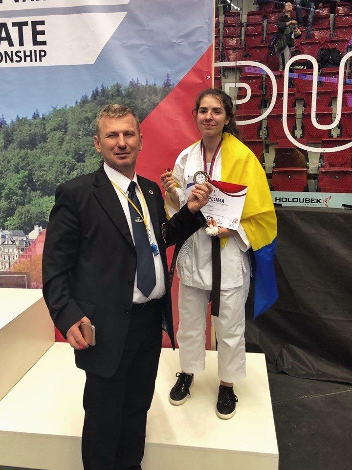 Чемпіонкою світу з карате стала закарпатка Софія Фабрицій (ФОТО, ВІДЕО), фото-4
