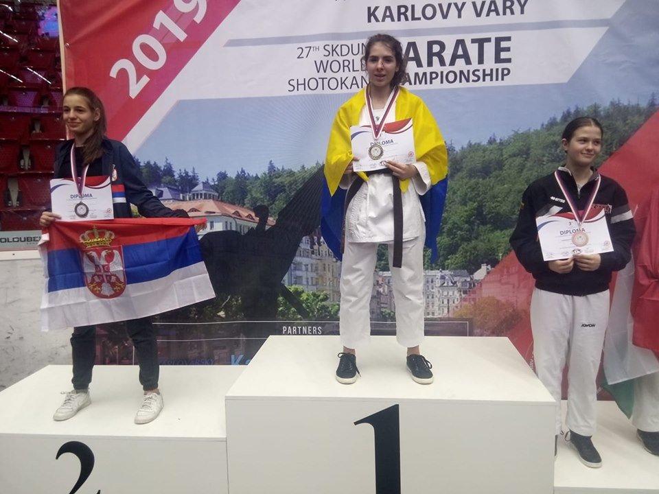 Чемпіонкою світу з карате стала закарпатка Софія Фабрицій (ФОТО, ВІДЕО), фото-2