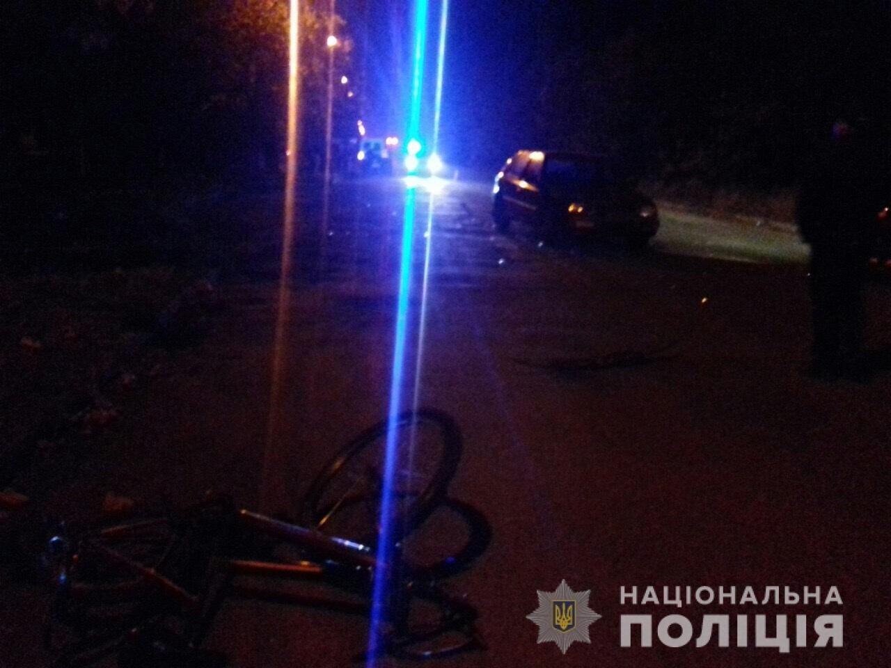 Водій, що у Виноградові важко травмував 14-річного велосипедиста, був п'яним: подробиці від поліції, фото-2