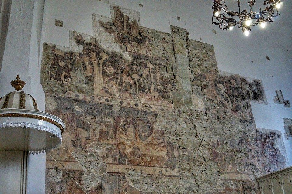 На Закарпатті у церкві знайшли мурал, датований XIV століттям (ФОТО), фото-3