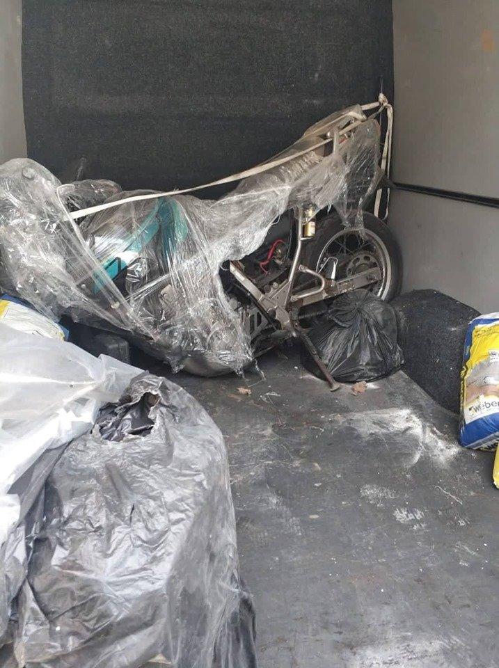 """Розібраний на деталі: через КПП """"Ужгород"""" намагались провезти мотоцикл «Yamaha» (ФОТО), фото-2"""