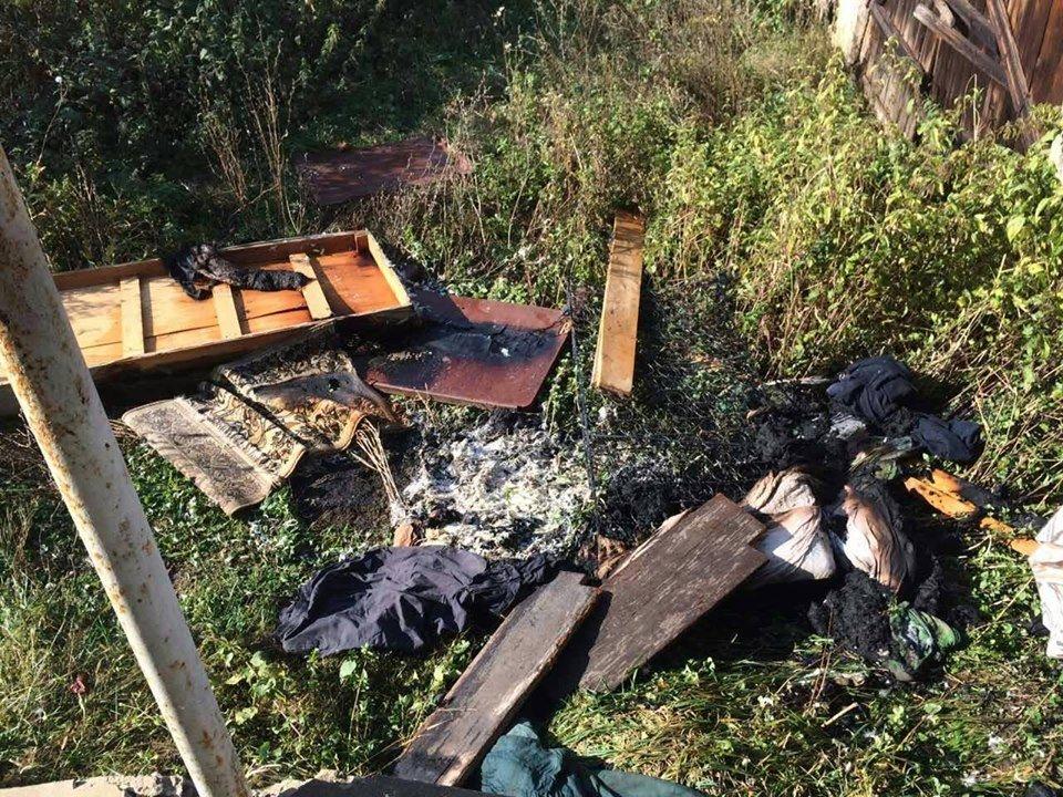 На Виноградівщині вогнеборці двічі на вихідних гасили пожежі , фото-2